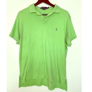 Ralph Lauren men's pollo lime green